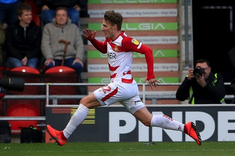 A tally of 12 goals made Kieran Sadlier the leading goalscorer for Doncaster Rovers this season.