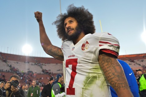 Colin Kaepernick has been out of the league since the end of the 2016 season