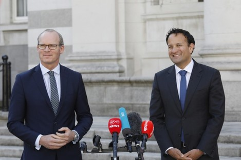 Leo Varadkar says he would like to increase government numbers to 90 in order to secure the future of the next government.