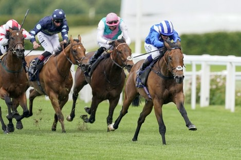 Battaash ridden by Jim Crowley wins the King's Stand Stakes during Day One of Royal Ascot.