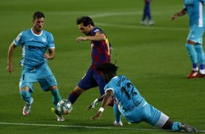 Messi fires home penalty as Barcelona cruise to win and turn up heat on Real Madrid