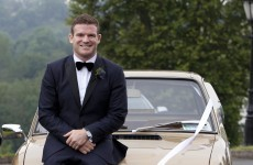 In pictures: Gordon D'Arcy ties the knot