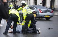 Boris Johnson's car involved in collision after protester runs onto road