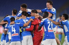 Napoli beat Juventus on penalties to claim Italian Cup glory