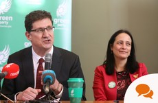 Ciarán Cuffe: There's an extraordinary opportunity here for the Greens in government