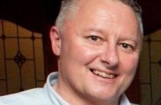 Parish priest: Colleagues of Detective Colm Horkan prayed around him after he died