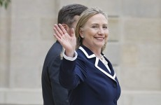 Clinton holds 'productive' talks with Palestinian leader