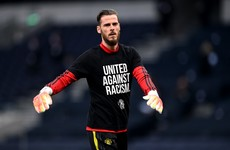 Solskjaer defends under-fire goalkeeper De Gea after Keane rant