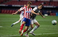 Atletico strike late to move up to third in La Liga and boost Champions League push