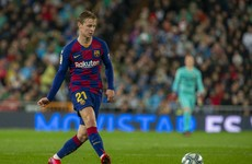 Blow for Barcelona as €75 million man set to be out for 'several weeks'