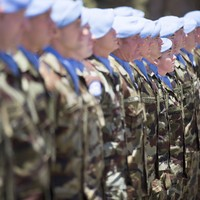 Over 100 peacekeeping troops arrive home from Lebanon after Covid-19 delay