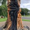 'A wanton act of vandalism': Gardaí investigate fire at popular tree sculpture in Dublin