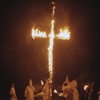 Whites only welcome at Alabama pastors' cross-burning
