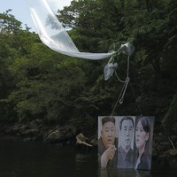 South Korean group launches thousands of anti-North leaflets across the border as tensions simmer