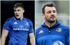 Ringrose and Healy fit again as Leinster's Lowe remains in New Zealand