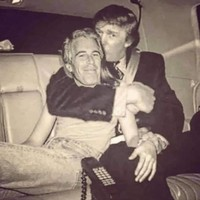 Debunked: This photograph showing Donald Trump and Jeffrey Epstein embracing is a fake