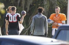 Tom Brady defies positive Bucs tests to continue off-site training - report