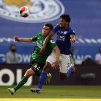 Connolly earns penalty, but Schmeichel save denies Brighton