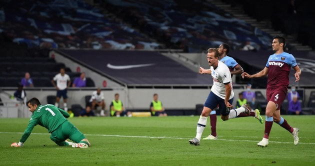Harry Kane back on the score-sheet as Spurs see off West Ham