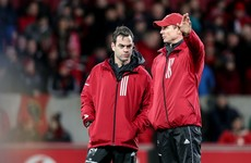 Munster's search for a fifth coach still active but not main priority