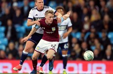 Six-year spell at Aston Villa comes to an end for Ireland U21 midfielder