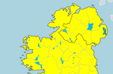 Status Yellow thunder warning in place for entire country from 4pm tomorrow