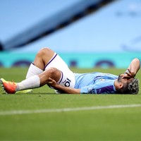 Knee surgery in Barcelona rules Aguero out of Premier League run-in