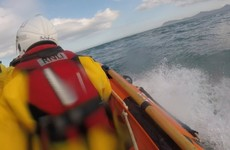 Two anglers cut off by rising tide in Killiney rescued by RNLI