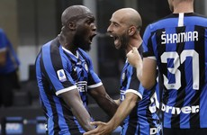 Romelu Lukaku continues hot streak but Inter's title hopes stall