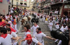 Spain: Six injured in Pamplona bull run