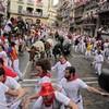 Spain: Six injured in Pamplona bull run