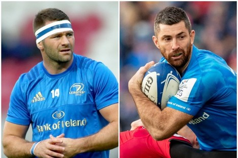 Fergus McFadden and Rob Kearney are staying on short-term deals.