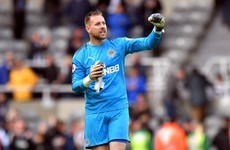 Newcastle United release Irish international Rob Elliot