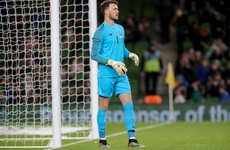 Irish keeper Kieran O'Hara let go by Manchester United
