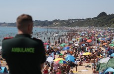 Major incident declared as thousands flock to UK beaches amid heatwave