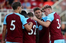 Burnley trigger extension on Irish Under 21 star Jimmy Dunne's deal