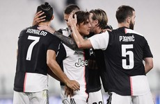 Juventus thump 10-man Lecce to go seven points clear in Serie A