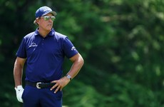 Magnificent Mickelson surges into lead at Travelers Championship