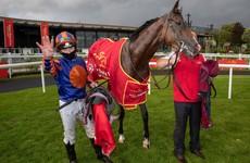 Favourite Santiago gives O'Brien 14th Irish Derby success