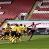 Ireland's McGoldrick on target but Arsenal strike late to seal FA Cup semi-final spot