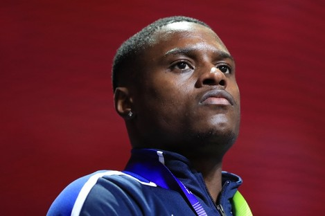 File photo of Christian Coleman.
