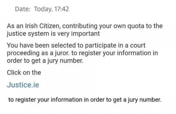 Fake Jury Duty Letter from img2.thejournal.ie