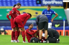 Liverpool defender Joel Matip out for the season with foot injury