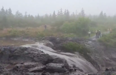'It's like something you'd see in a movie': Thousands of tonnes of bog slide down mountain in Leitrim