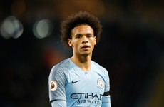 Leroy Sane set to leave Man City in €60 million deal