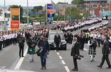 PSNI to review footage amid criticism of high number of attendees at funeral of senior republican