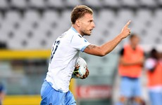Lazio come from behind again to keep Serie A title race alive