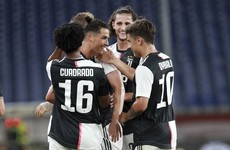 Juventus keep Lazio at arm's length as they stroll past Genoa