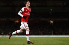 Mesut Ozil's wage does not affect my team selection, insists Arsenal boss