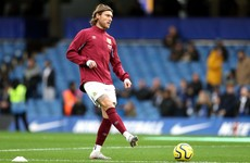Ireland's Jeff Hendrick bids farewell to Burnley as AC Milan speculation mounts